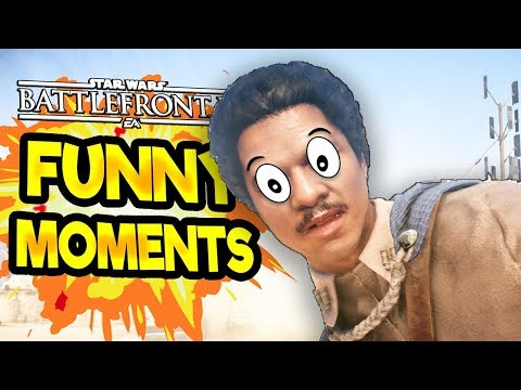 Star Wars Battlefront 2 Funny & Random Moments FUNTAGE 31 To Be or not to be