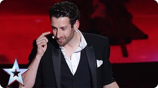 Jamie Raven's incredible magic moment | Semi-Final 3 | Britain's Got Talent 2015
