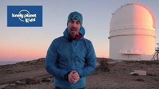See the stars from the Calar Alto Observatory - Lonely Planet Kids video