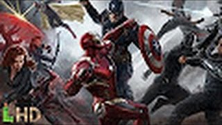Action movies 2016 - Captain America   Civil War Airport Fight Scene Part 1 HD