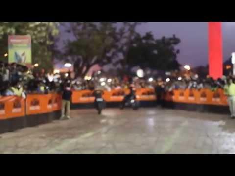 KTM Ajmer Stuntday: Stunt video