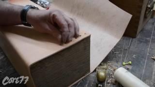 DiResta's Cut: Oak & Leather Toolbox