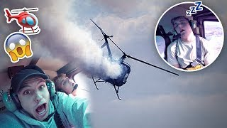 SAVAGE HELICOPTER IS CRASHING PRANK {EMERGENCY🆘}
