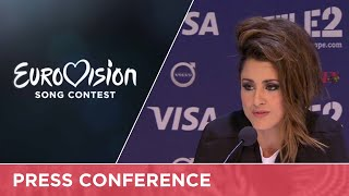 Barei (Spain) Press Conference