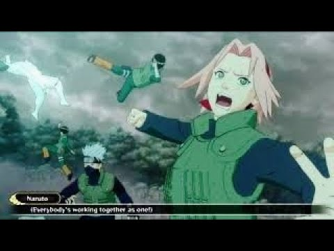 Naruto vs Jinchuruki and Tobi Final Fight Naruto Shippuden Ultimate Ninja Storm 3