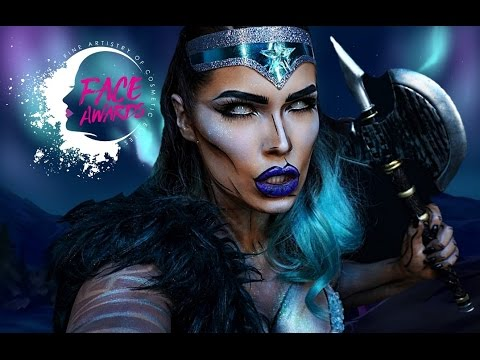 Xxx Mp4 NYX NORDIC FACEAWARDS 2017 TOP30 Aurora The Valkyrie Full Torso Bodypaint SARA TARNANEN 3gp Sex