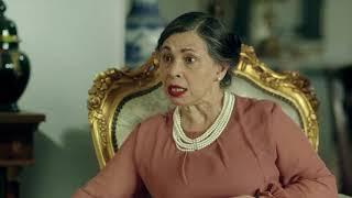مسلسل ليالي أوجيني - عزيز ووالدته ماجدة في مقابلة متوترة مع أهل العروسة ساره