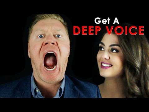 How To Get A Deep Voice That Intimidates Men And Attracts Women