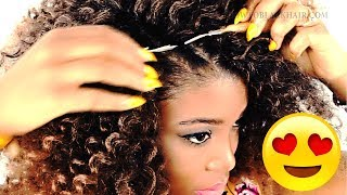 How To: CROCHET BRAIDS For Beginners! (Step By Step)