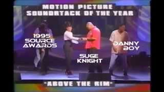 Suge Knight & Danny Boy Accepts Source Award 1995