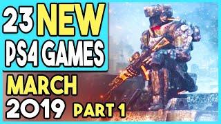 BIG PS4 GAMES COMING MARCH 2019! - PART 1 (11 NEW GAMES!)