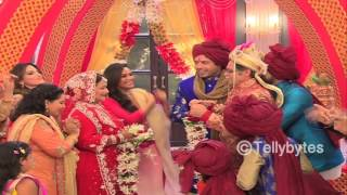Ishaan and Preet's romantic moments during the wedding rituals