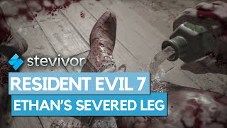 Resident Evil 7: Jack Baker severs Ethan Winters' leg | Stevivor