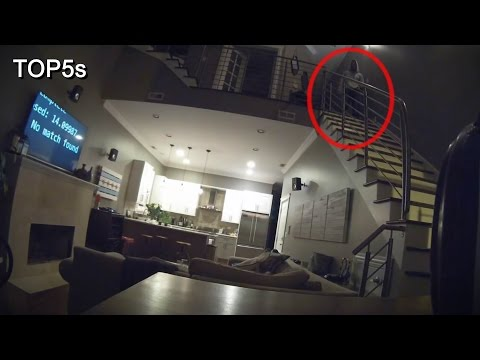 5 Incredibly Creepy & Terrifying Things Caught On Camera