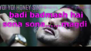 LYRICS Yo Yo Honey Singh New Songs 2014   Mere Mehboob Qayamat Hogi