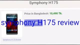 Symphony H175 review