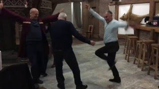 Georgian men dancing is the best thing I have seen