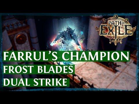 Xxx Mp4 PoE 3 2 Frost Blades Dual Strike Champion Build Guide Farrul S Edition 2018 3gp Sex