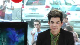 Never close our eyes sung by fans for Adam Lambert at MusiquePlus