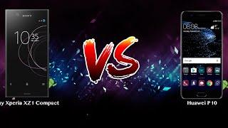 Sony Xperia XZ1 Compact vs Huawei P10   - Phone battle