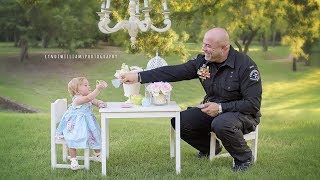 Cop Joins Baby For Tea Party A Year After Delivering Her Off Road