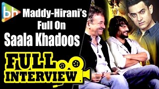 R Madhavan | Rajkumar Hirani | Saala Khadoos | Aamir Khan | Exclusive Full Interview