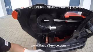 HAAGA 497 - 697 HEIGHT ADJUSTMENT ( WHEEL HOLDER ) SERVICE