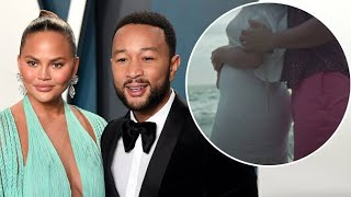 When Chrissy Teigen Revealed She s Expecting Another Baby, She Did It In The Most Adorable Way