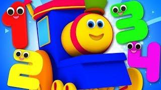 Bob The Train Cartoons For Children   Kindergarten Nursery Rhymes For Kids