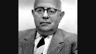 Theodor Adorno - Reminiscences Of Alban Berg (in English)