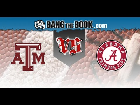 No. 6 Texas A&M at No. 1 Alabama No Huddle 10/22/16