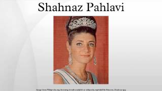Shahnaz Pahlavi