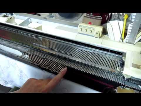 Como fazer saia evasê no tricô à máquina