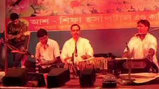 কাহারবা নয় দাদরা বাজাও - রাজু হালদার Live on stage performance in the year 2015 .