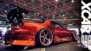 Japanese Car Show: Skylines, Silvias and more Tuned and Stanced, no Showgirls  - XCAR