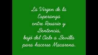 Letra Himno Esperanza Macarena