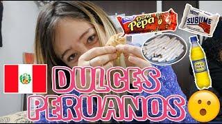 PROBANDO DULCES TÍPICOS PERUANOS | La Mona Soy Yo