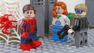 Lego Spider-Man Bank Robbery