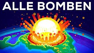 Was passiert, wenn man alle Atombomben auf einmal zündet?