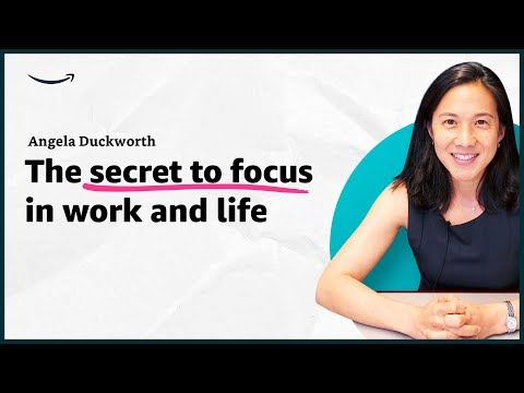 Xxx Mp4 Angela Duckworth The Secret To Focus In Work And Life Insights For Entrepreneurs Amazon 3gp Sex