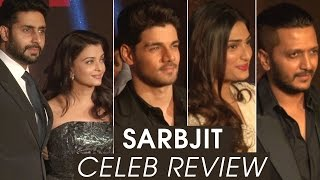 Sarbjit Movie Première | Sarbjit Celebrity Review