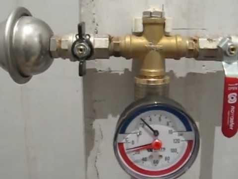 как избежать перепадов температуры воды административный