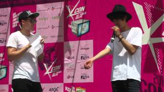 [HD] Jung Joon Young funny interview at KCON 2014 (part 2)