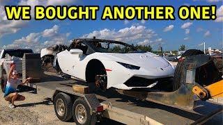 Rebuilding A Wrecked Lamborghini Huracan Part 6