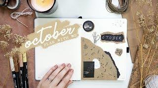 Plan With Me October 2018 Bullet Journal Set Up + A NOTEBOOK GIVEAWAY! // PLANT BASED BRIDE