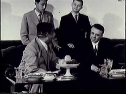 Ким Ир Сен и Энвер Ходжа в сентябре 1956 года