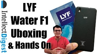 LYF Water F1 Unboxing And Hands On- Is It Worth Buying? Find out! | Intellect Digest