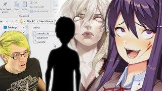 Secret Doki Doki Characters in the files!? | Doki Doki Literature Club Secrets