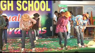 mukkala muqabla dance performance BY 10TH CLASS STUDENTS  (EVEREST HIGH SCHOOL,ALER)