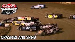 Late Model Dirt Series - 2017 - WinterNationals - Crashes And Spins